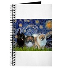 Starry/3 Pomeranians Journal