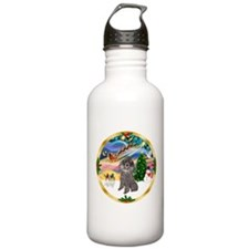 XmasMagic/Std Poodle #8 Water Bottle