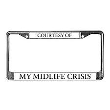 My MidLife Crisis License Plate Frame