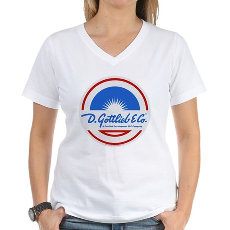 "Gottlieb® ""Sunburst"" Logo Women's V-Neck T-Shi"