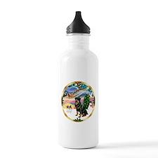 XmasMagic/ Rottie #3 Water Bottle