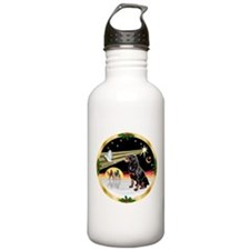 XmasDove/Rottweiler #6 Water Bottle