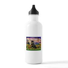 Autumn Angel & Rottie Water Bottle