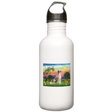 Bright Country with Saluki Water Bottle