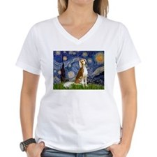 Starry Night & Saluki Shirt