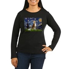 Starry Night & Saluki T-Shirt