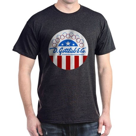 "Gottlieb® ""Stars & Stripes"" Logo Dark T-Shirt"