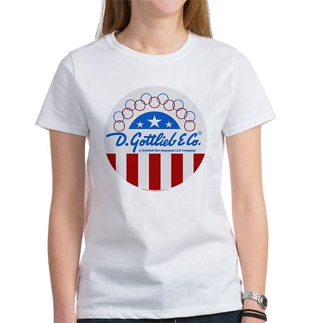 "Gottlieb® ""Stars & Stripes"" Logo Women's T-Shi"