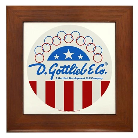 "Gottlieb® ""Stars & Stripes"" Logo Framed Tile"