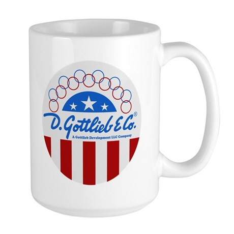 "Gottlieb® ""Stars & Stripes"" Logo Large Mug"