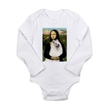 Mona Lisa (new) & Samoyed Onesie Romper Suit