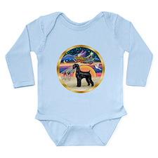 XmasStar/Schnauzer G Long Sleeve Infant Bodysuit