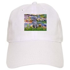 Lilies & Deerhound Baseball Cap