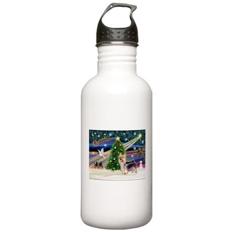Xmas Magic & Silk T Stainless Water Bottle 1.0L