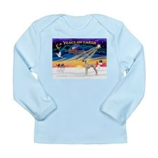 XmasSunrise/Sloughi Long Sleeve Infant T-Shirt