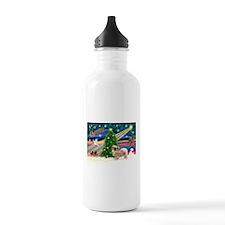 XmasMagic/Tibetan Spaniel Water Bottle