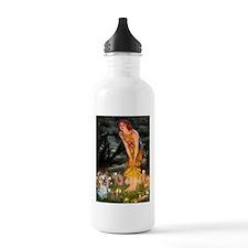 Fairies & Yorkie (T) Water Bottle