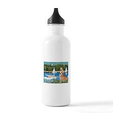 Monet's Sailboats Water Bottle
