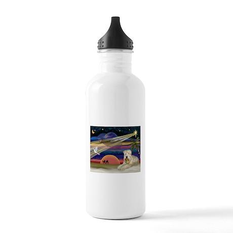 XmasStar/Wheaten (#1) Stainless Water Bottle 1.0L