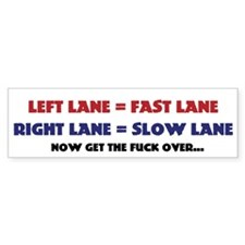 left lane right lane (Bumper)
