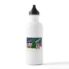 Xmas Magic & Whippet Water Bottle