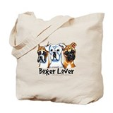 Boxer Lover Tote Bag