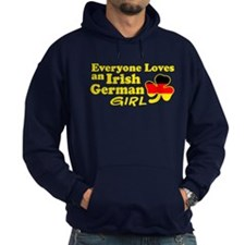 Irish German Girl Hoodie