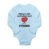 Grandma Heart Awareness Long Sleeve Infant Bodysui