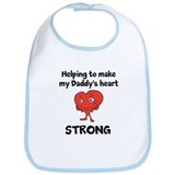 Daddy Heart Awareness Bib