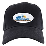 Belmar NJ - Waves Design Baseball Hat