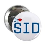 "I Heart Sid 2.25"" Button"