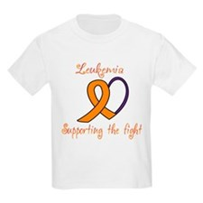 Supporting the Fight, Leukemi T-Shirt