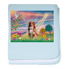 Cloud Angel / Aussie (rm) baby blanket