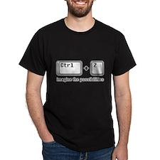 Crtl + Z T-Shirt