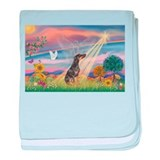 Cloud Angel - Dobie (B) baby blanket
