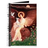 Seated Angel / Italian Greyho Journal