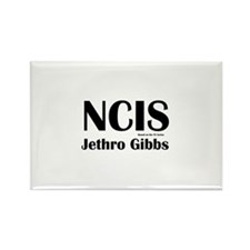 NCIS Jethro Gibbs Rectangle Magnet