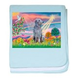 Cloud Angel & Deerhound baby blanket