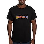 Rainbow & Shih Tzu Zip Hoodie (dark)