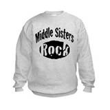 Middle Sisters Rock Sweatshirt
