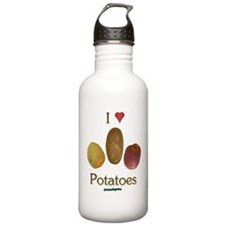 I Heart Potatoes Water Bottle