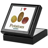 I Heart Potatoes Keepsake Box