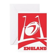England Rugby Greeting Cards (Pk of 20)