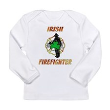 Irish Firefighter Long Sleeve Infant T-Shirt