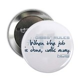 "Gibbs' Rules #11 2.25"" Button (100 pack)"