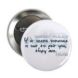 "Gibbs' Rules #40 2.25"" Button (10 pack)"