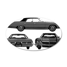 Chevy Caprice 22x14 Oval Wall Peel