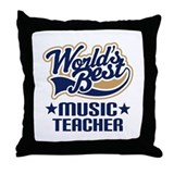 Music Teacher Throw Pillow
