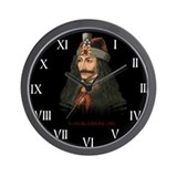 Vlad the Impaler Wall Clock