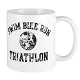 Swim Bike Run Logo Mug